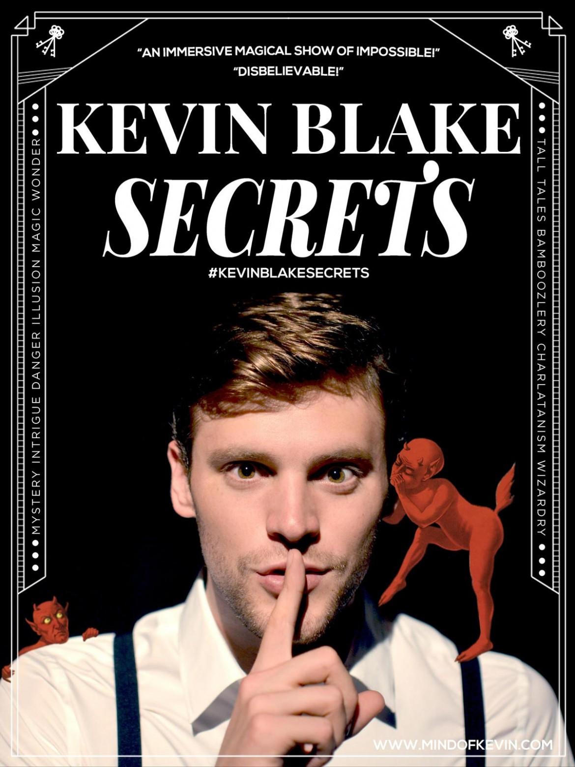San Francisco Magician Kevin Blake